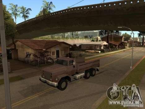 Ford Freightliner für GTA San Andreas