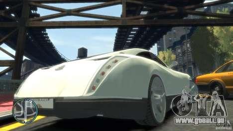 Maybach Exelero für GTA 4 Seitenansicht