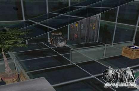 Cottage à deux étages pour GTA San Andreas troisième écran