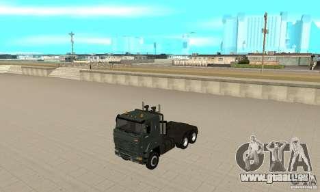 KAMAZ 65226 Tai v1.1 pour GTA San Andreas laissé vue
