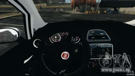 Fiat Punto Evo Sport 2012 v1.0 [RIV] pour GTA 4 roues