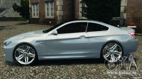 BMW M6 Coupe F12 2013 v1.0 pour GTA 4 est une gauche