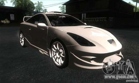 Toyota Celica-SS2 Tuning v1.1 pour GTA San Andreas vue arrière