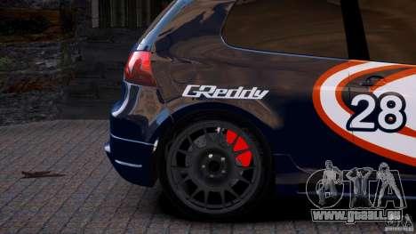 Volkswagen Golf V GTI Blacklist 15 Sonny v1.0 für GTA 4 hinten links Ansicht