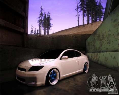 Scion tC Blue Meisters pour GTA San Andreas