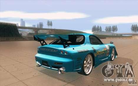 Mazda RX-7 911 Trust für GTA San Andreas Seitenansicht