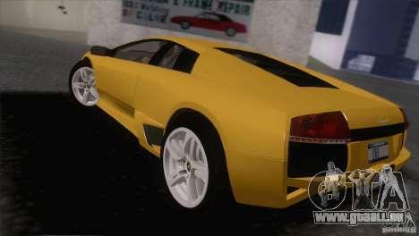 Lamborghini Murcielago LP640 2006 V1.0 pour GTA San Andreas laissé vue