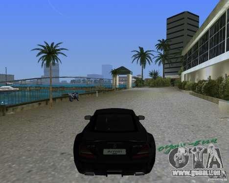 Mercedess Benz SL 65 AMG Black Series pour une vue GTA Vice City de la gauche