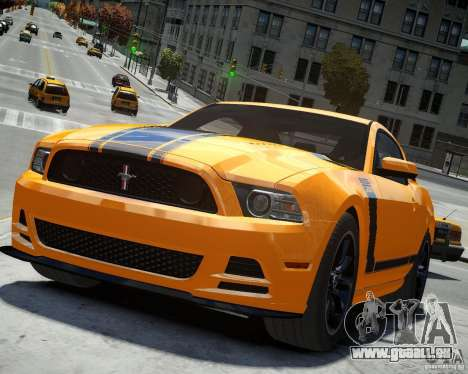Ford Mustang Boss pour GTA 4
