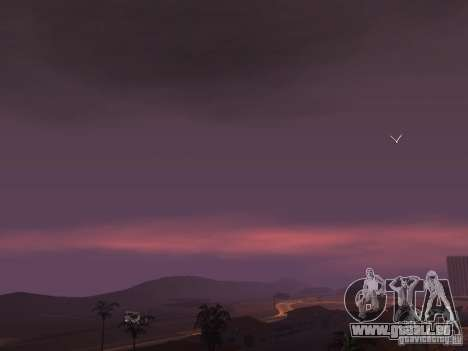 Timecyc - Purple Night v2.1 für GTA San Andreas