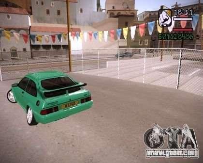 Ford Sierra Drift für GTA San Andreas rechten Ansicht