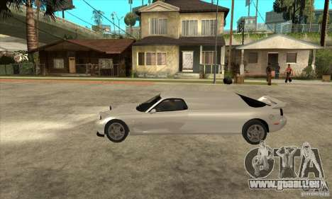 Mazda RX-7 Limousine pour GTA San Andreas laissé vue