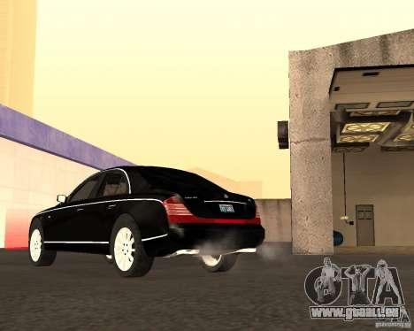 Maybach 57S für GTA San Andreas Seitenansicht