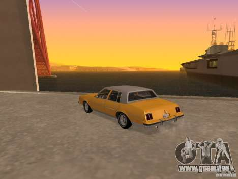 Oldsmobile Cutlass v2 1985 für GTA San Andreas linke Ansicht