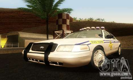 Ford Crown Victoria South Carolina Police pour GTA San Andreas