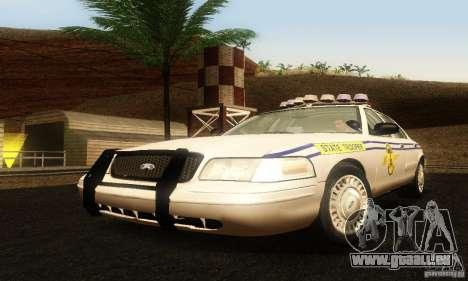Ford Crown Victoria South Carolina Police pour GTA San Andreas