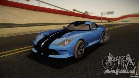 Dodge Viper GTS 2013 pour GTA San Andreas