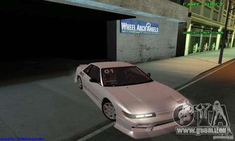 Nissan Silvia S13 Tunable für GTA San Andreas Räder