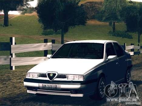 Alfa Romeo 155 1992 pour GTA San Andreas laissé vue