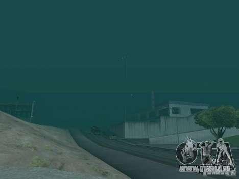 Weather manager für GTA San Andreas dritten Screenshot