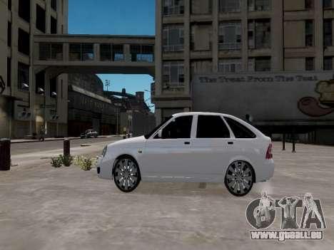LADA Priora 2172 für GTA 4 linke Ansicht