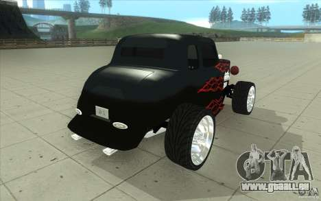 Ford Hot Rod 1934 v2 für GTA San Andreas Seitenansicht