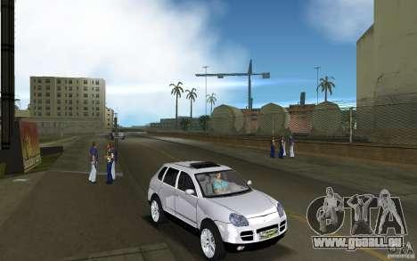Porsche Cayenne pour GTA Vice City vue arrière