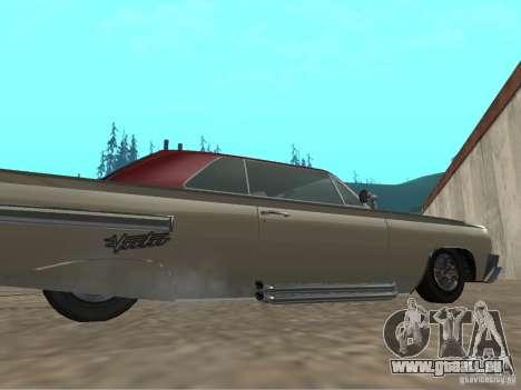 Vaudou de GTA 4 pour GTA San Andreas sur la vue arrière gauche