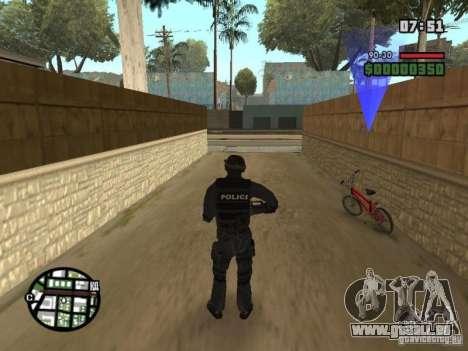 Commando de la SWAT 4 pour GTA San Andreas deuxième écran