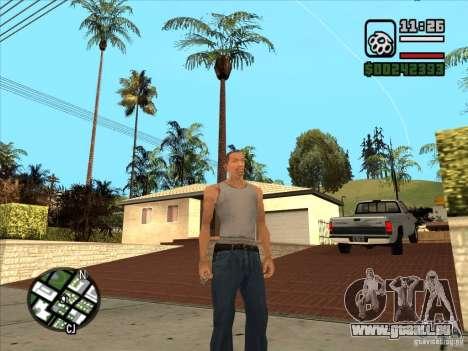 Weiße Cj für GTA San Andreas