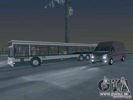 Ford Transit Jumbo 350L 2009 für GTA San Andreas obere Ansicht