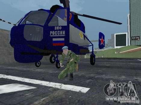 Ka-27 pour GTA San Andreas laissé vue