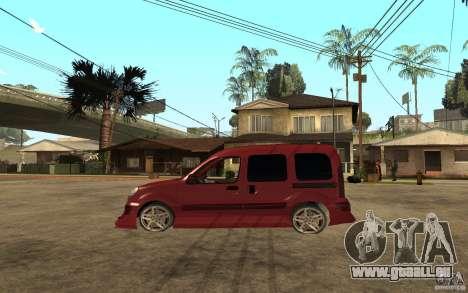 Renault Kangoo Tuning pour GTA San Andreas laissé vue
