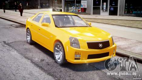 Cadillac CTS Taxi pour GTA 4