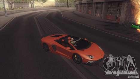 2013 Lamborghini Aventador LP700-4 Roadstar für GTA San Andreas