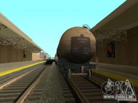 Tank Nr. 68Z 53911384 für GTA San Andreas zurück linke Ansicht