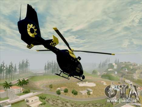 Eurocopter EC-135 Essex für GTA San Andreas linke Ansicht