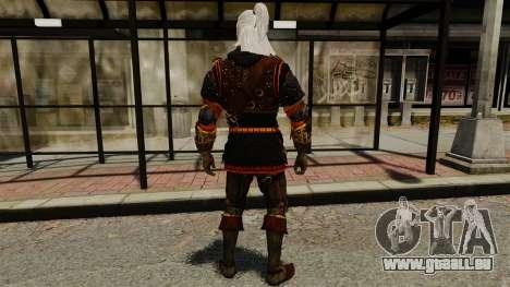 Geralt de Rivia v2 pour GTA 4 troisième écran