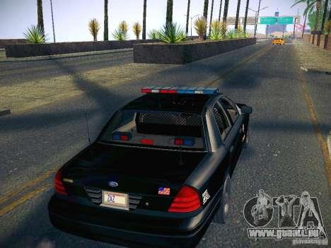 Ford Crown Victoria Police Intercopter für GTA San Andreas Innenansicht