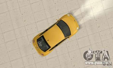 Volkswagen New Beetle GTi 1.8 Turbo pour GTA San Andreas vue de droite