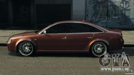 Audi RS6 2003 für GTA 4 linke Ansicht