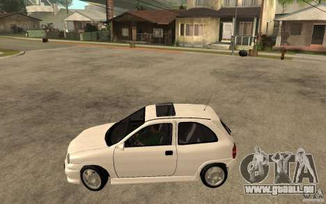 Opel Corsa GSI 16V pour GTA San Andreas laissé vue