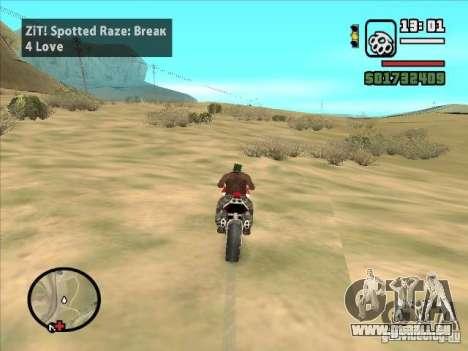 ZiT pour GTA San Andreas quatrième écran