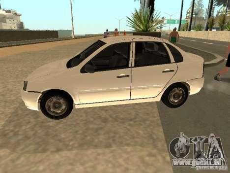 Lada Kalina für GTA San Andreas linke Ansicht