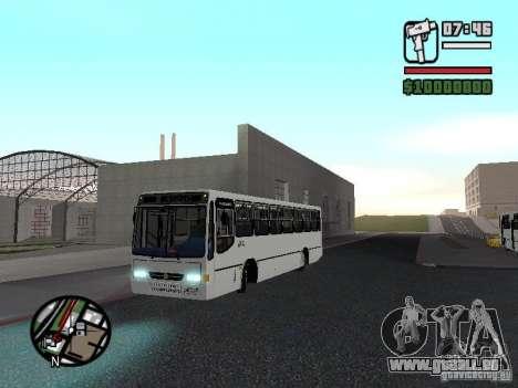 Busscar Urbanus SS Volvo B10M pour GTA San Andreas laissé vue
