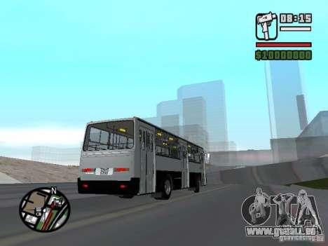 Ikarus 260.06 pour GTA San Andreas vue de droite