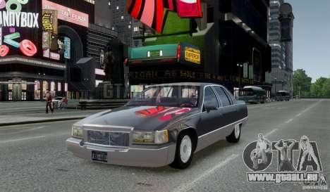 Cadillac Fleetwood 1993 pour GTA 4 Vue arrière de la gauche