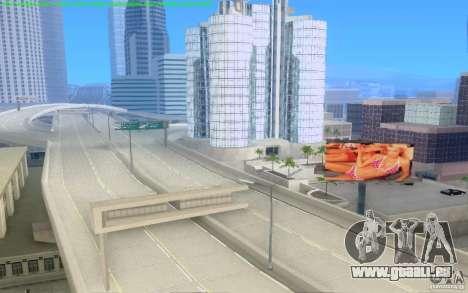 Routes en béton de Los Santos Beta pour GTA San Andreas septième écran