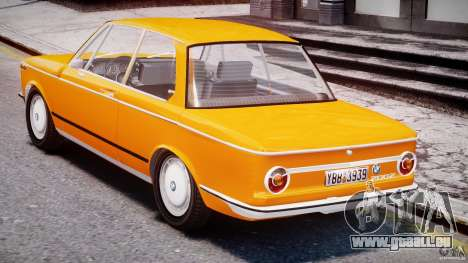 BMW 2002 1972 pour GTA 4 est un droit