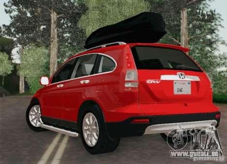 Honda CRV 2011 für GTA San Andreas linke Ansicht